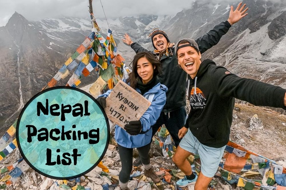 What To Pack For Nepal | Packing List With 46 Things To Bring