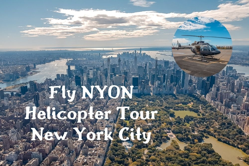 FlyNYON New York City Helicopter Tour With Open Doors | Would You Dare?