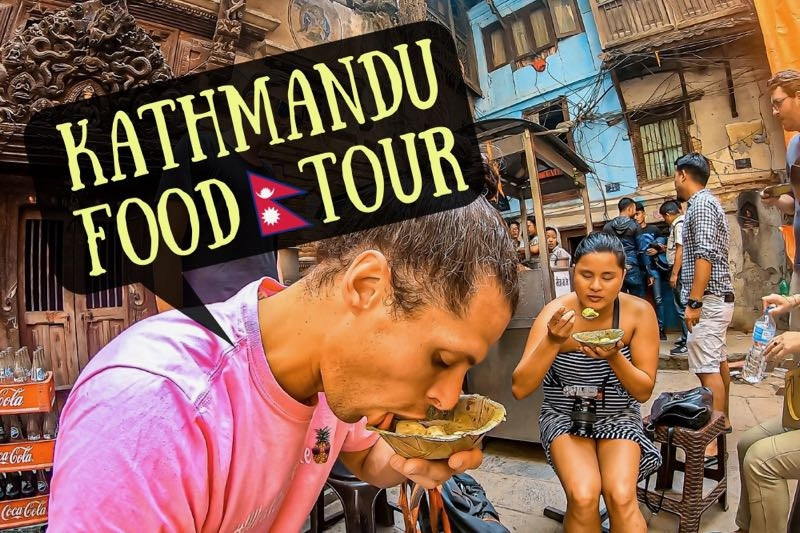 Trying Nepal Street Food | Kathmandu Food Tour