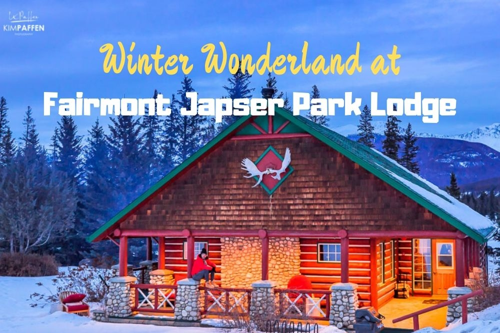 Winter Wonderland at the Fairmont Jasper Park Lodge