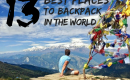 16 Best Places To Backpack In The World