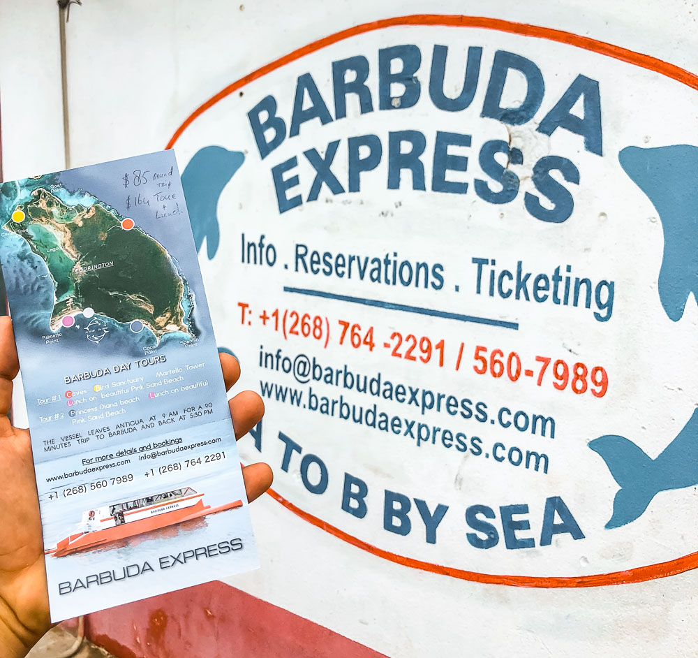 how to get to barbuda