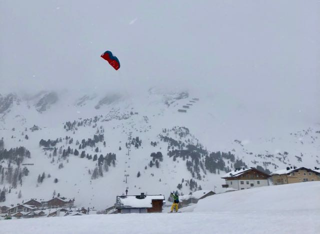 snowkiting in obertauern 3
