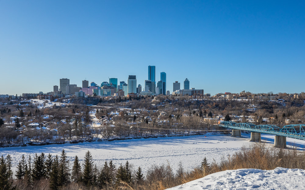 winter in edmonton