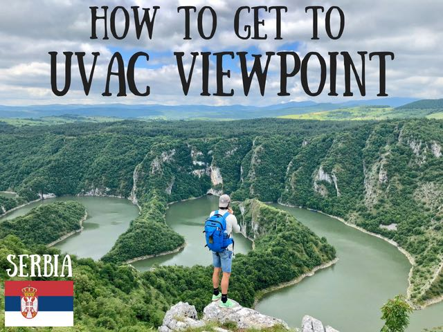 uvac canyon viewpoint serbia