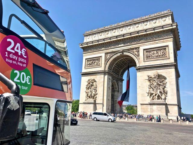 open bus tour paris