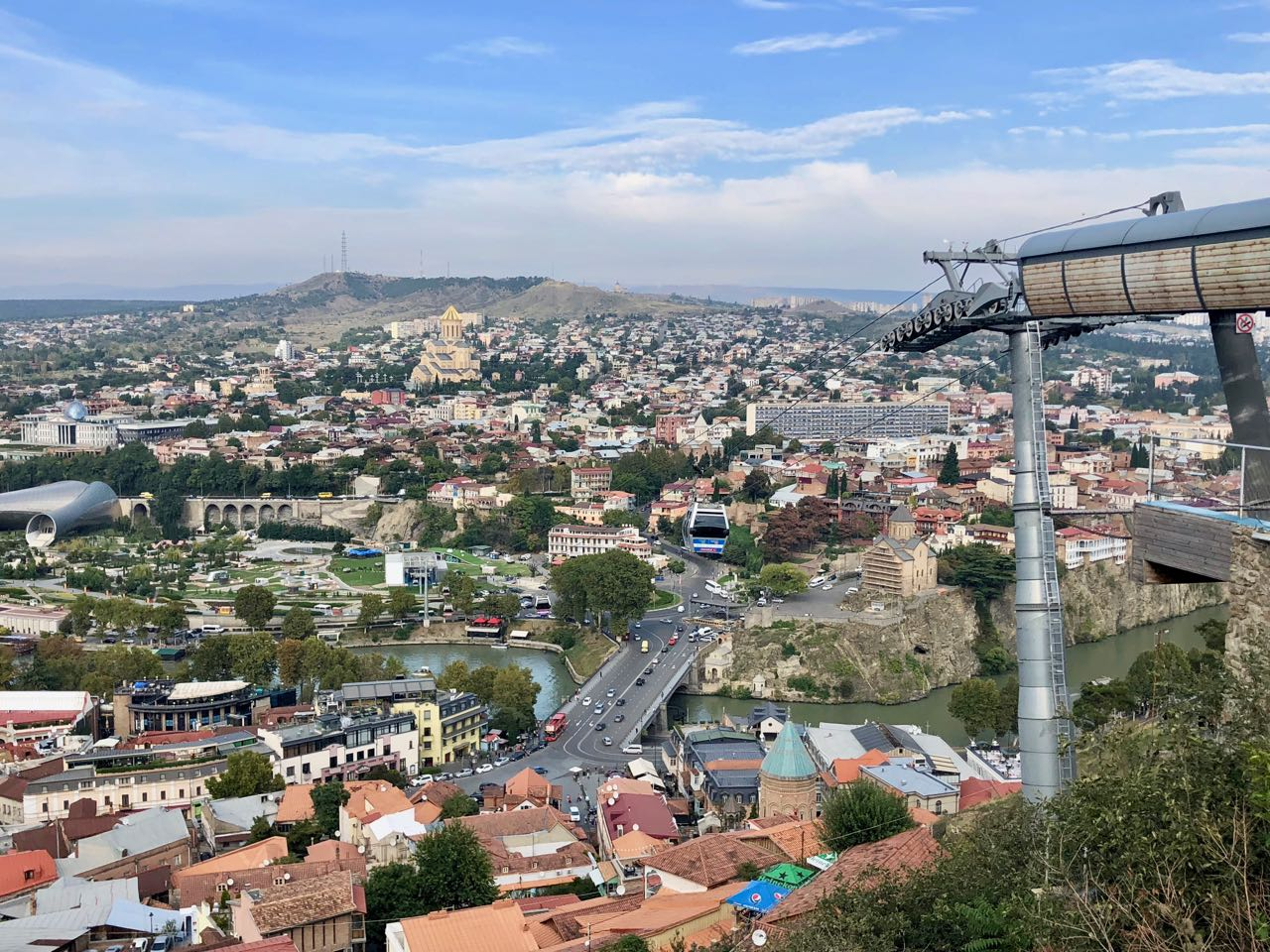 cable car tbilisi