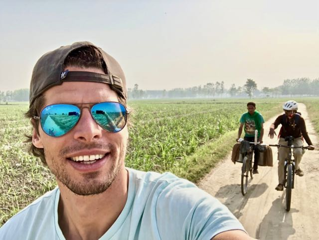cycling tour dudhwa national park 1