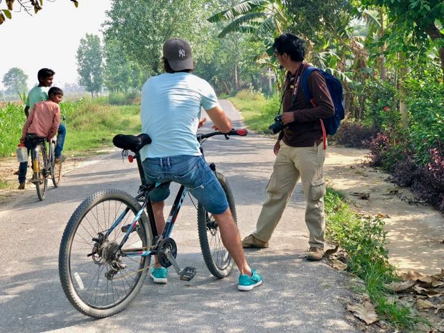 cycling tour dudhwa national park 3