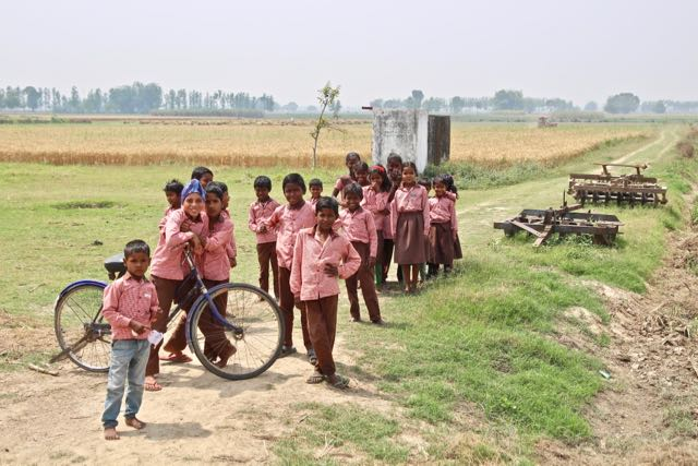 local school dudhwa national park