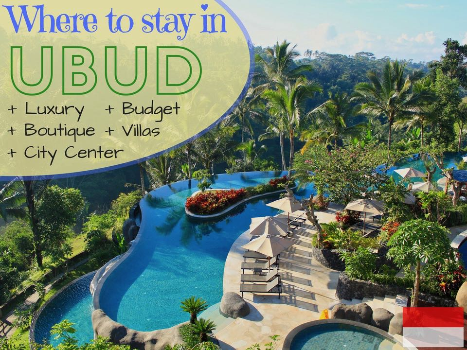 Where To Stay In Ubud Bali Luxury Boutique Budget Center