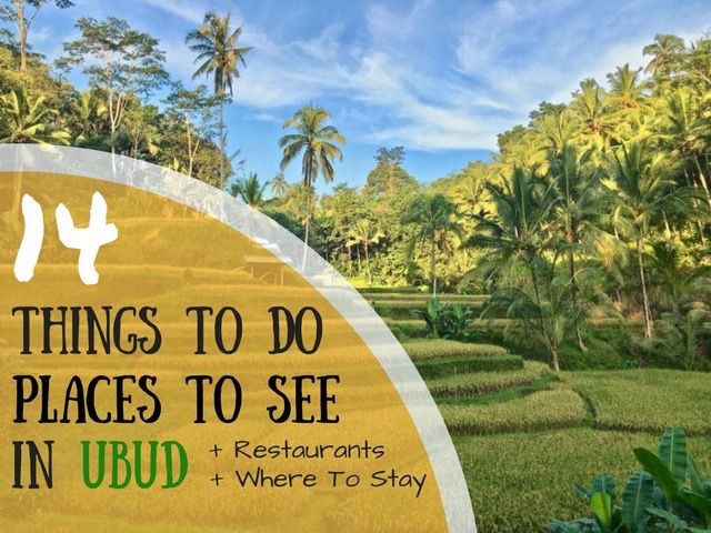 14 Places To See In Ubud (Secret Waterfalls, Hikes and Restaurants)
