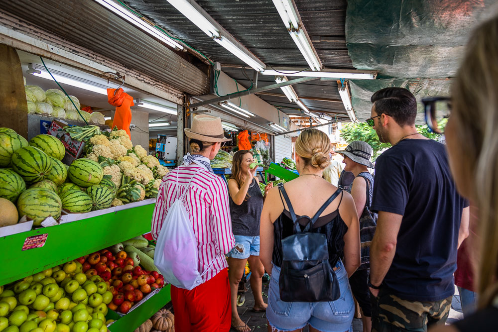 Food tour Neve Sha'anan