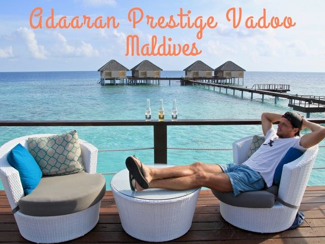 Adaaran Prestige Vadoo Water Villas close to Male Airport