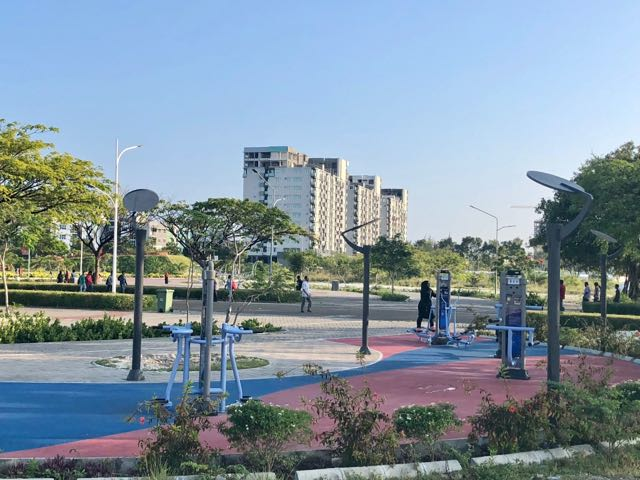 outdoor gym hulhumale