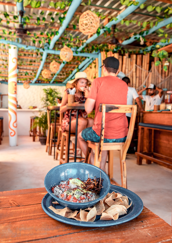 ceviche big fish isla holbox