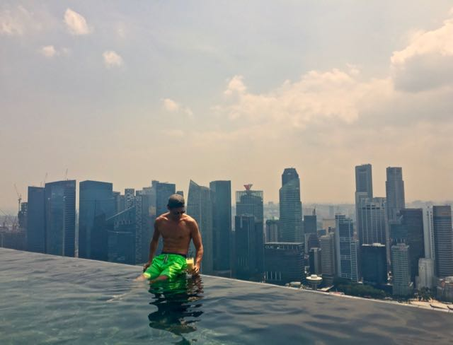 best hotel pools in singapore
