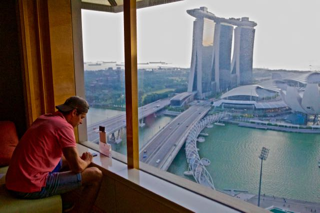 club lounge ritz carlton singapore2