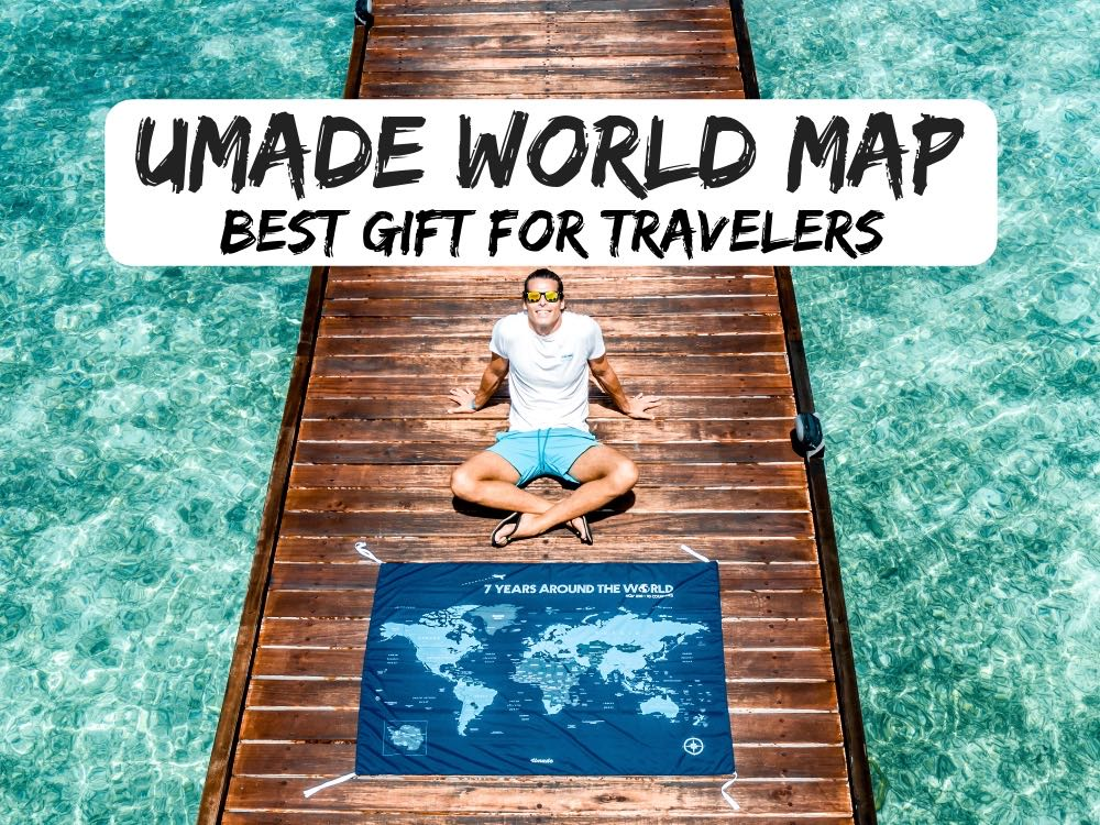 Umade World Map | Best Present For A Traveler