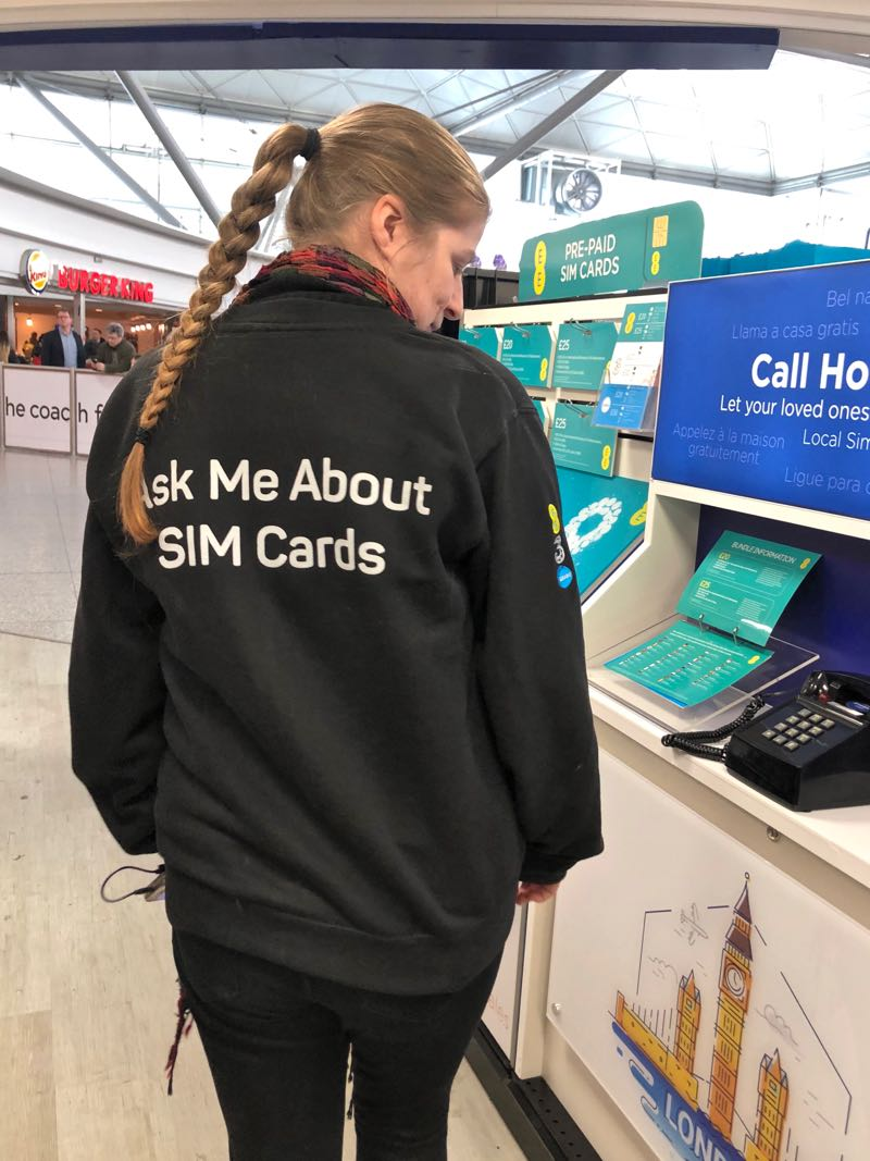 sim card stansted airport