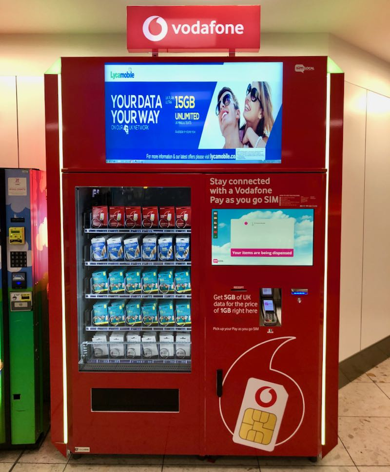 sim card vending machine london stansted