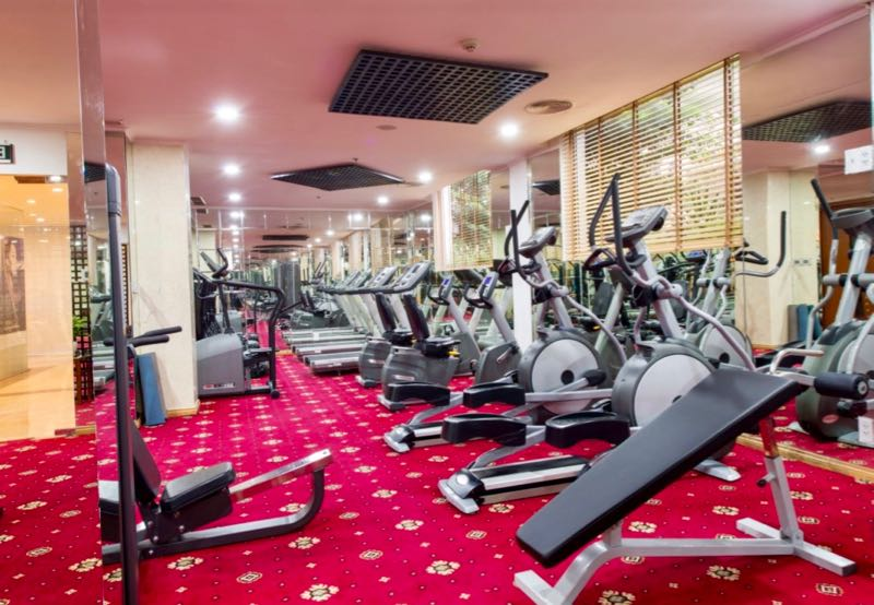 fitness grand hotel siagon