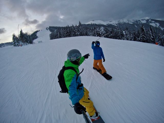 snowboarding in zell am see3