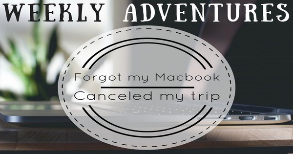 trip to greece forgot my macbook